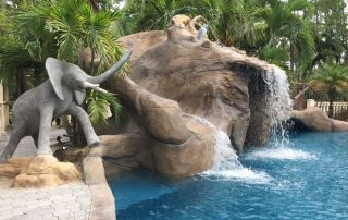 Palm Beach Gardens custom waterslide