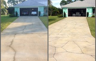 repair cracks in cement before and after Viewcrete