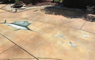 Palm Beach driveway concrete