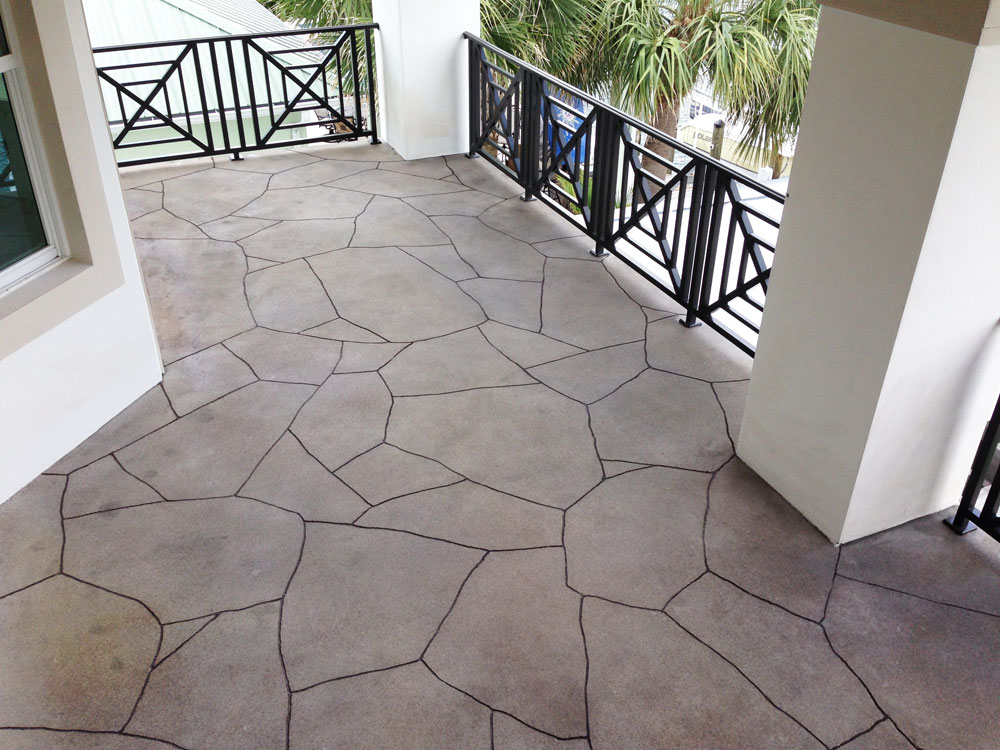 Palm Beach porch crack repair Viewcrete