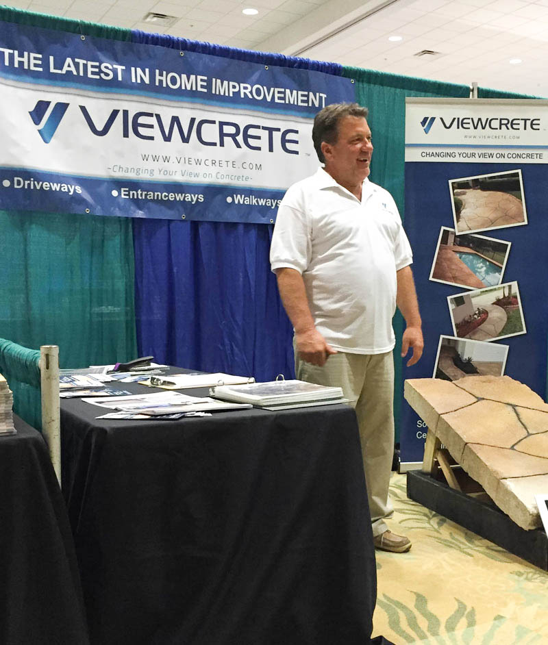 Viewcrete owner Marc Collette