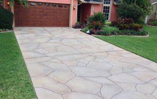 Ocean Breeze driveway stone