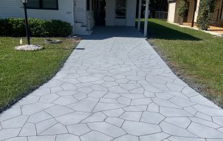 concrete driveway replacing Viewcrete